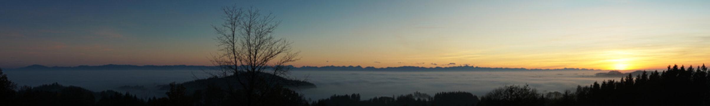 Nebel-Panorama