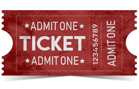 ticket admit one vintage ticket classic ticket style