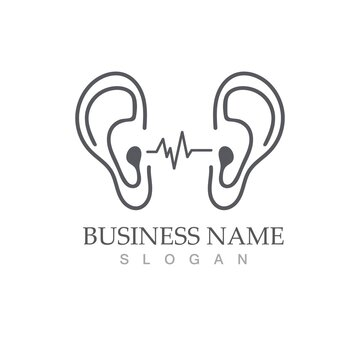 Hearing Logo Template