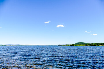 sea and sky, in Sweden Scandinavia North Europe