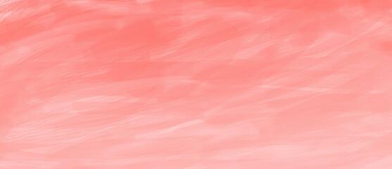 筆_手描き_水彩風_背景_横長_ピンク_春_お祝い_華やか_絵の具_テクスチャ_横長 pink abstract background wide size