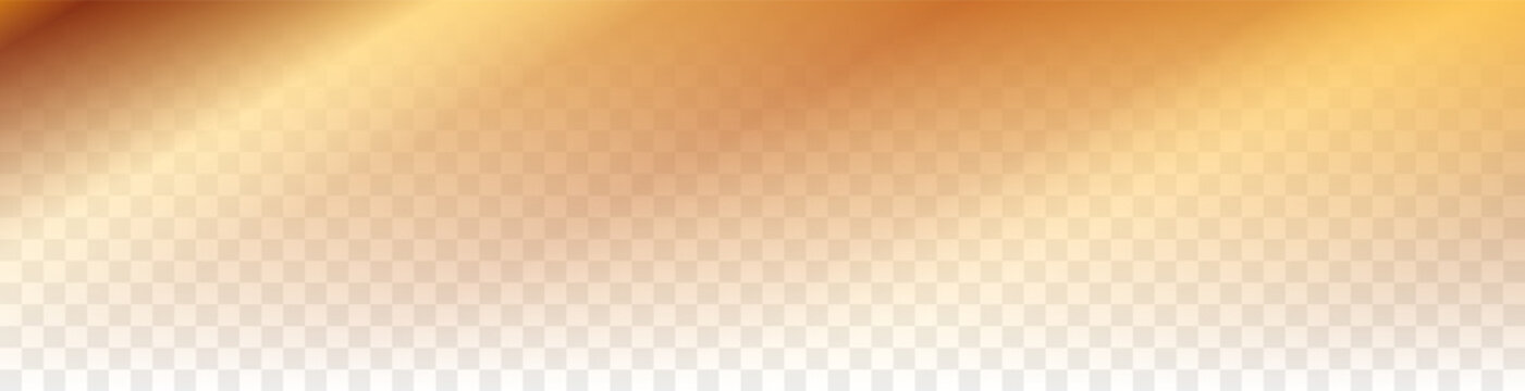 vector gold gradient bacground on transparent background