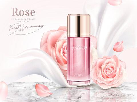Rose toner ads