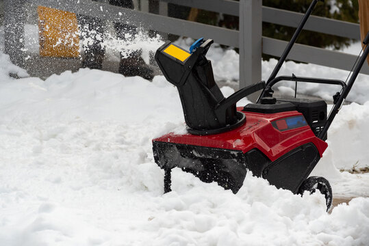 work snow blower