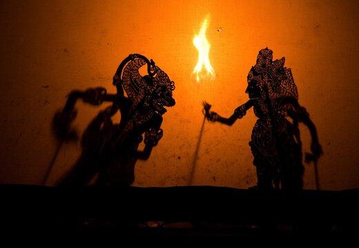 Wayang Kulit Shadow Puppet Theater