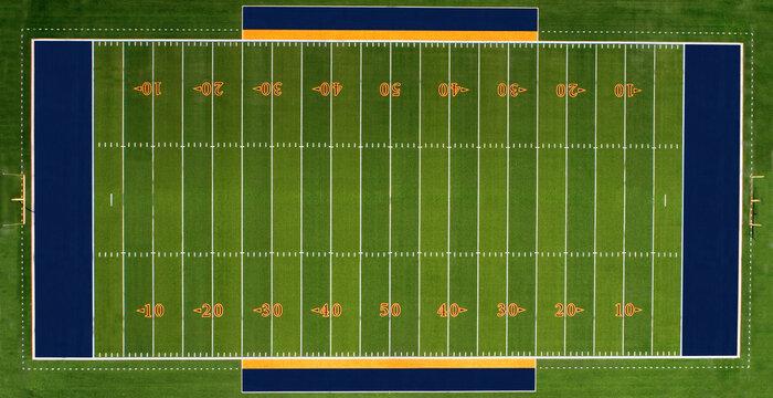 Drone Football Field