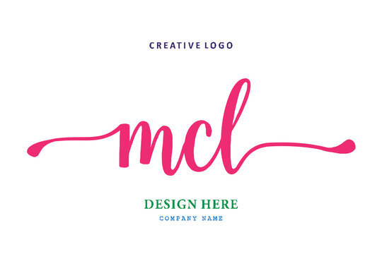 MCL lettering logo is simple, easy to understand and authoritative