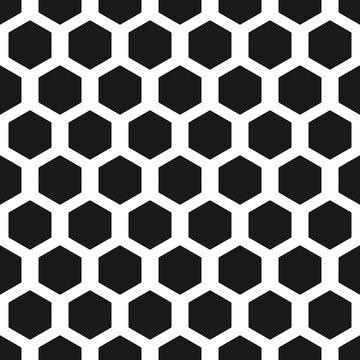 Seamless honeycombs or cells background. Hexagon pattern. Geometric seamless texture.