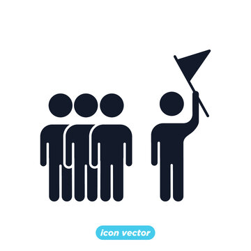 leadership traits icon. Development and Teamwork symbol template for graphic and web design collection logo vector illustration