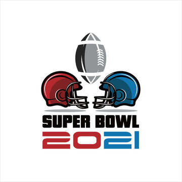 Vector illustration of Superbowl and American football badge in manual drawing style, American football logo design. Rugby emblem championship template, club, tournament.
