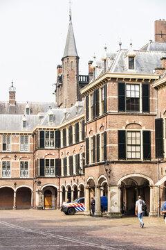"""Der """"Binnenhof"""" von Den Haag."""