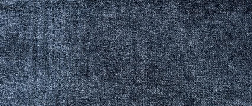 texture of dark  blue jeans denim fabric background