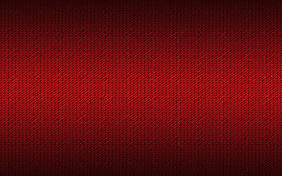 Red metal plate texture. Dark striped pattern with red diagonal lines. Modern vector illustration