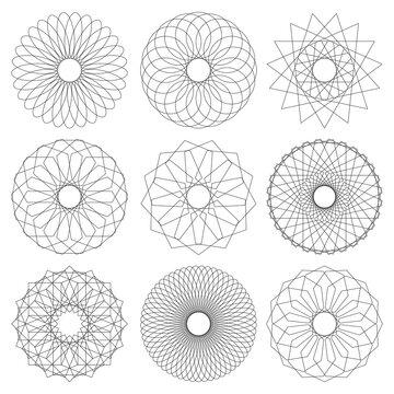 Geometric Mandala Vector Collection