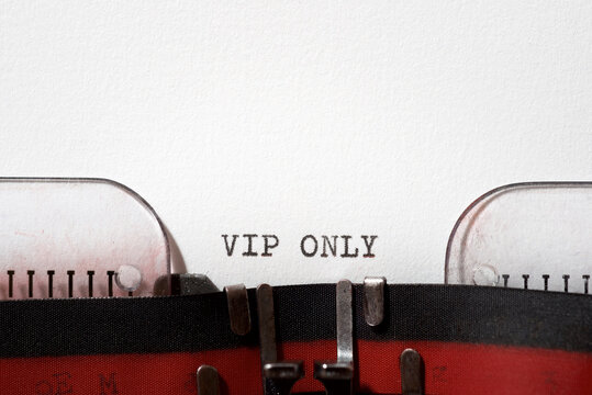 Vip only text