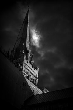 Moonlit Cathedral Spire