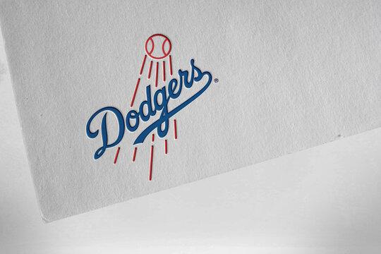 los angeles dodgers sports logo