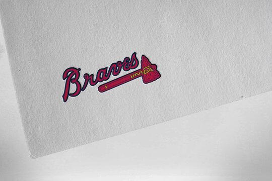 atlanta braves sports logo