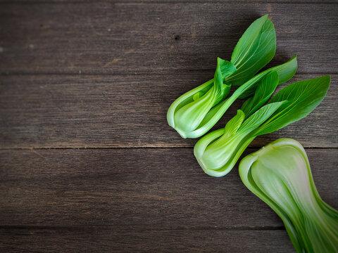 fresh green onions