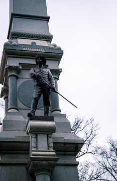 Solider statue in North Carolina state house