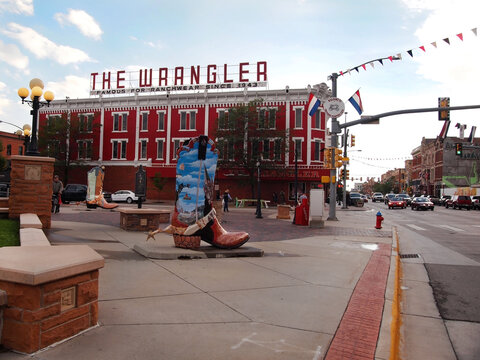 The Wrangler and Cheyenne Big Boots