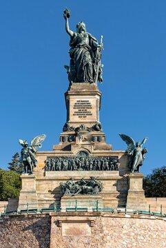Niederwalddenkmal in Rüdesheim am Rhein in Hessen, Deutschland