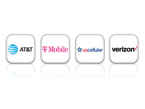 U.S. telecommunication services providers - AT&T T-Mobile US Cellular Verizon