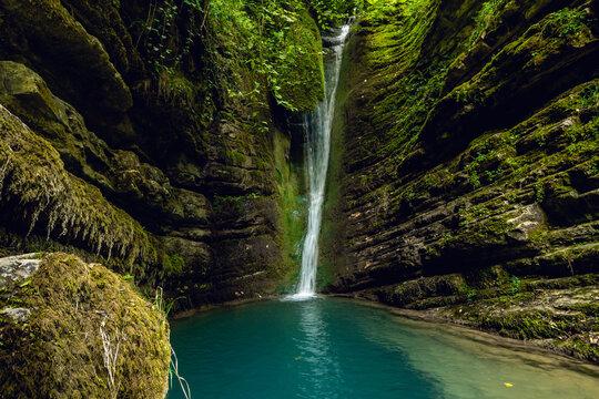 Erfelek Waterfalls, Hiking Area, Sinop, Turkey