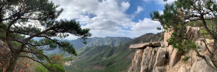 Panoramic picture Fotobehang