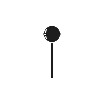 Lollipop icon. Vector. Flat design.