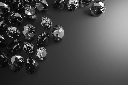 A genuine diamond, cut and clean. Rare and expensive. DIamonds background