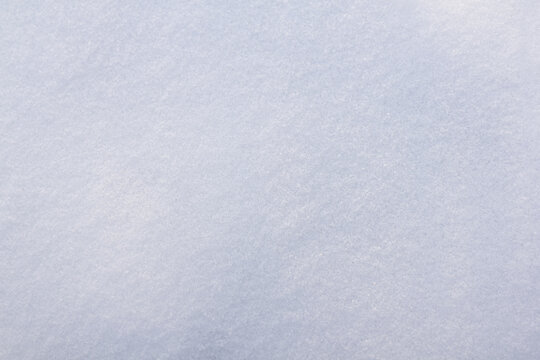 New snow texture, DOF, closeup. Winter season background