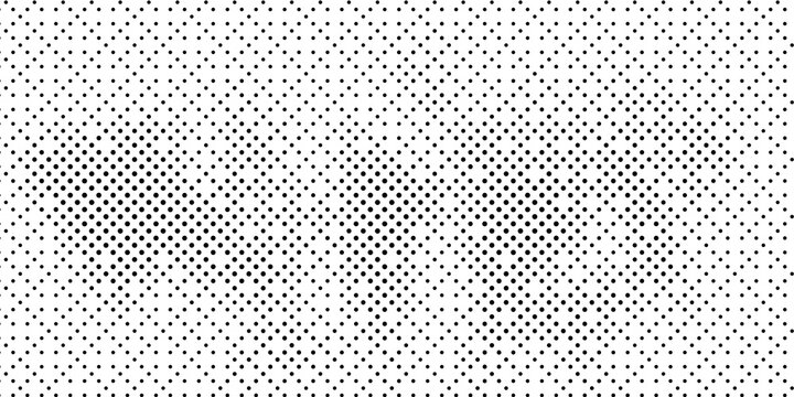 Halftone texture with dots. Vector. Modern background.