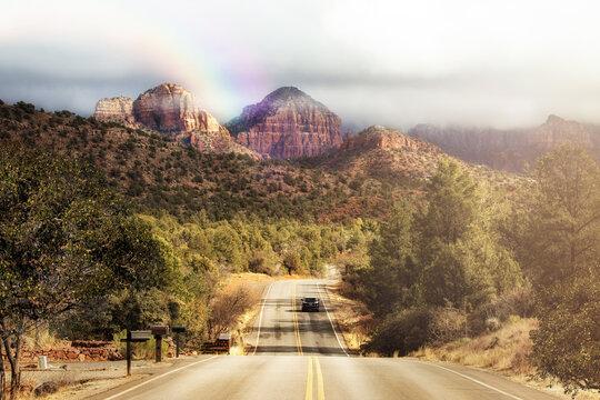 Road Trip Trough Northern Arizona Sedona Mountains