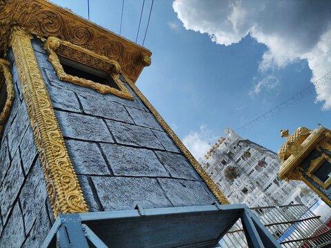 Tirupati Tirimala Venkatesh Balaji Temple View.