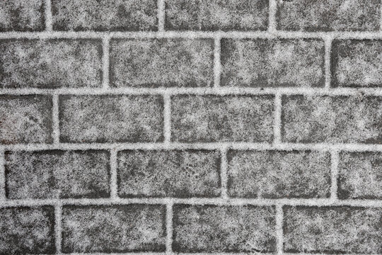 cobblestone path.Nested pavers.   Abstract background of old cobblestone pavement close-up.