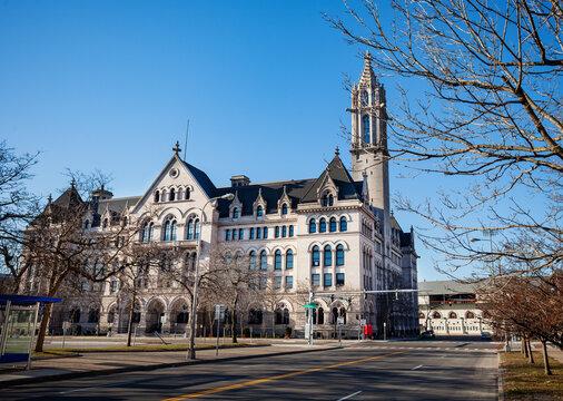 Erie County City Clerk's office in Buffalo, New York, USA
