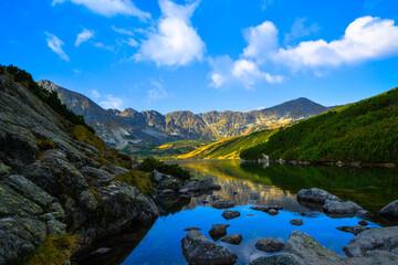 Wrześniowy poranek w Tatrach