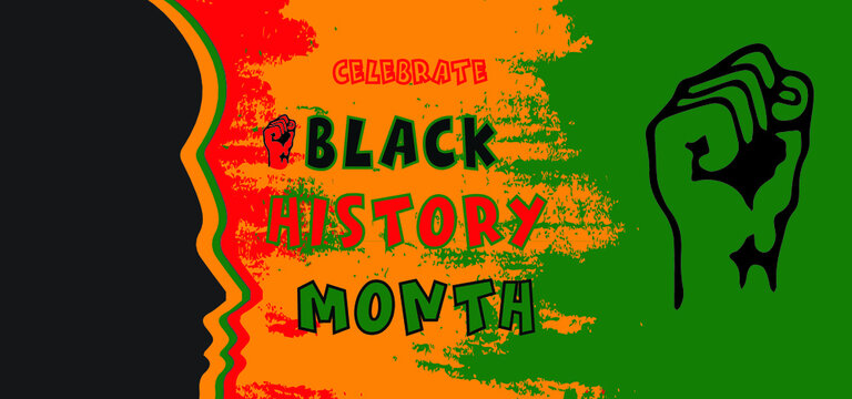 celebrate black history month backgroun
