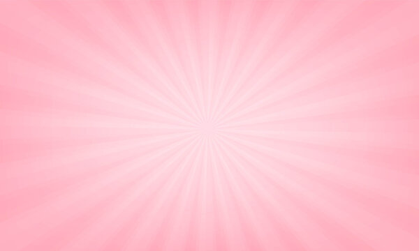 pink gradient ray Happy Valentine's day background. vector design
