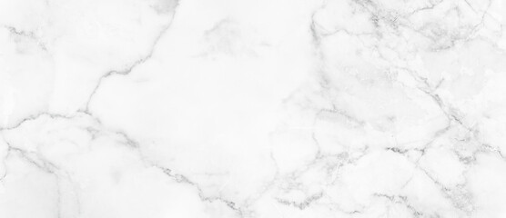 Marble granite white panorama background wall surface black pattern graphic abstract light elegant...