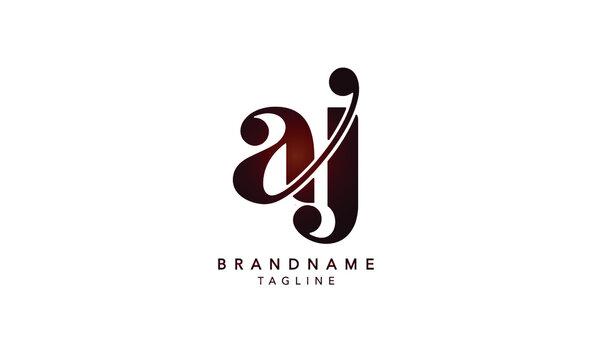 Alphabet letters Initials Monogram logo AJ,AJ INITIAL, AJ letter , A and J
