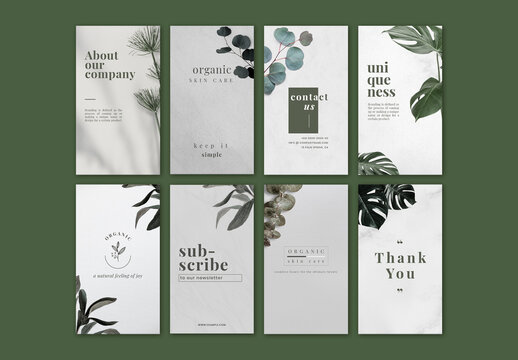 Botanical Style Sale Design Template