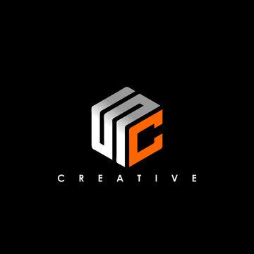 SC Letter Initial Logo Design Template Vector Illustration