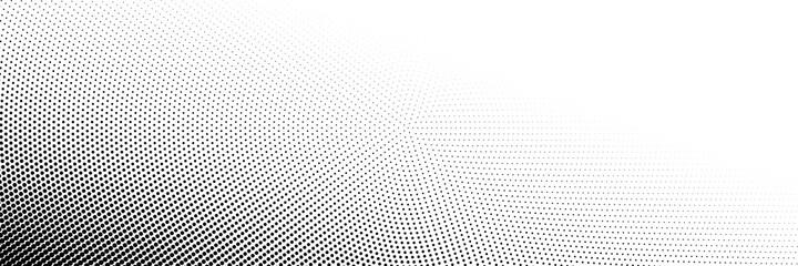 Obraz Dot Background, Halftone Texture, Gradient Dots Pattern - fototapety do salonu