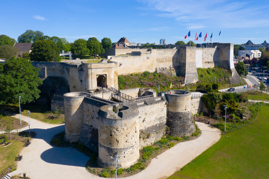 France, Calvados department, Caen, Castle of Caen- 1060, William of Normandy established a new stronghold in Caen.