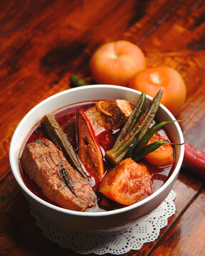 pari asam pedas delicious Malaysian dish