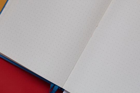 Pagina bianca vuota bullet journal