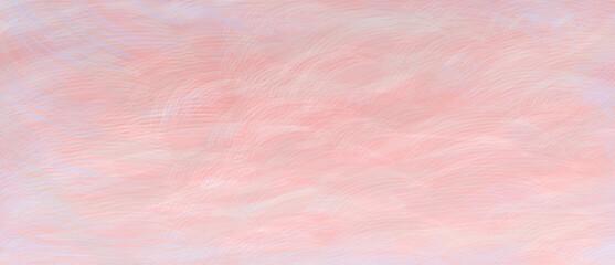 柔らかい_筆_背景_手描き_抽象_水彩風_横長_ピンク_春 abstract pink back wide size image
