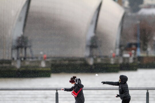 Storm Darcy affects large parts of UK